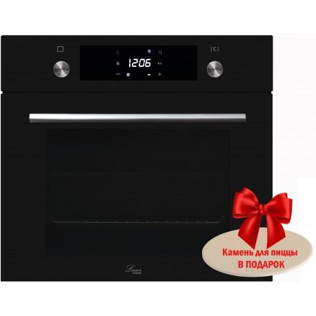Духовой шкаф электрический Luxor FRE 1079 BK + камень для пиццы в подарок