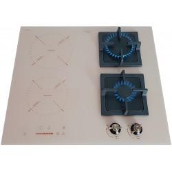 Варочная поверхность комбинированная Luxor Exclusive GI 67 BG Kup + подставка Wok в подарок